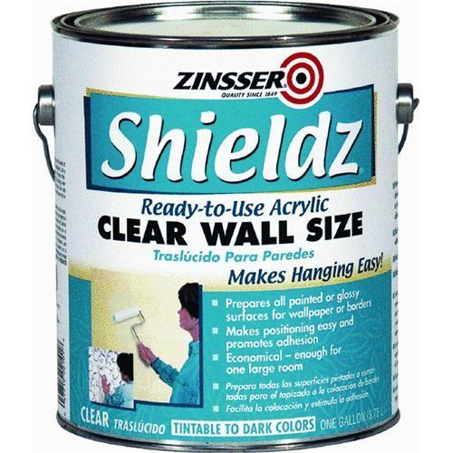 Rust Oleum Zinsser Shieldz Clear Acrylic Wallpaper Primer