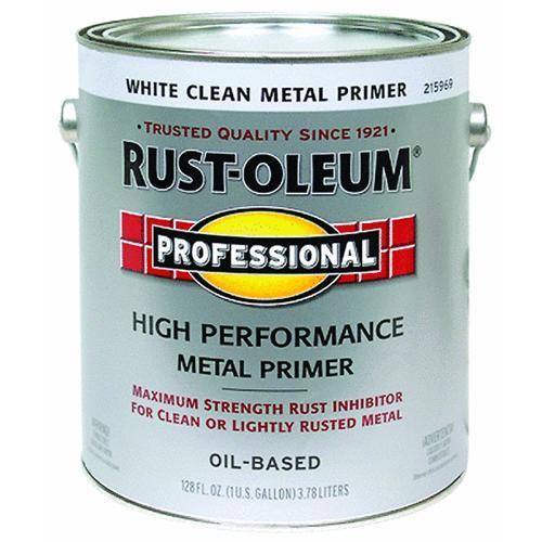 Rust Oleum White Clean Metal Primer