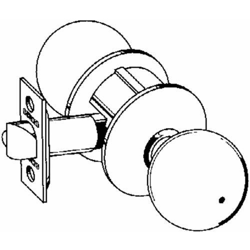 Schlage Lock Orbit Box Pack Privacy Knob Lockset