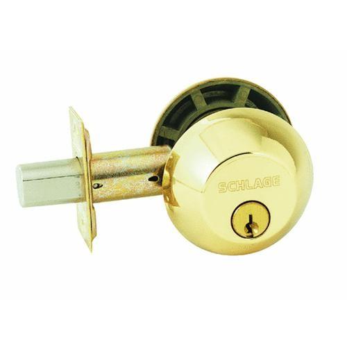 Schlage Lock Double-Cylinder Deadbolt