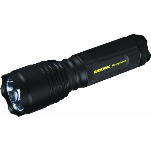 Ray-O-Vac Roughneck LED Metal Flashlight With Holster