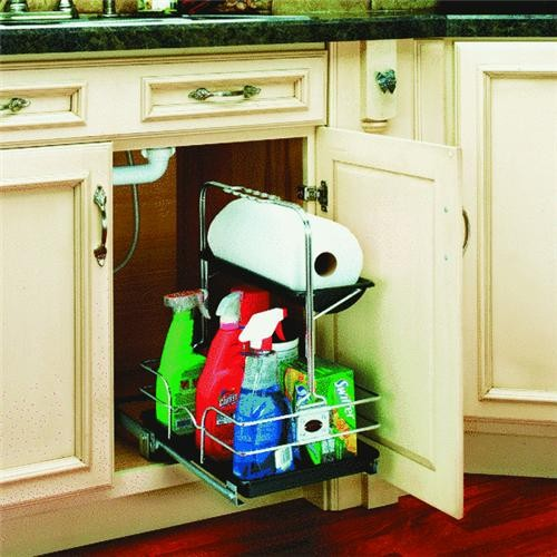 Rev a Shelf Rev-A-Shelf Undersink Pull-Out Removable Cabinet Organizer