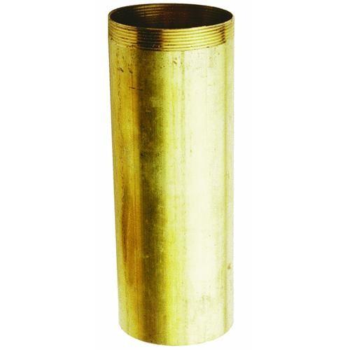 Plumb Pak/Keeney Mfg. Threaded Tube Threaded 1 End Brass Tubular