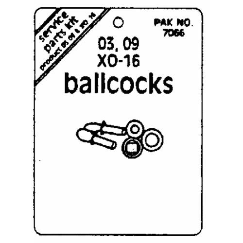 Prier Products Ball Cock Service Pack