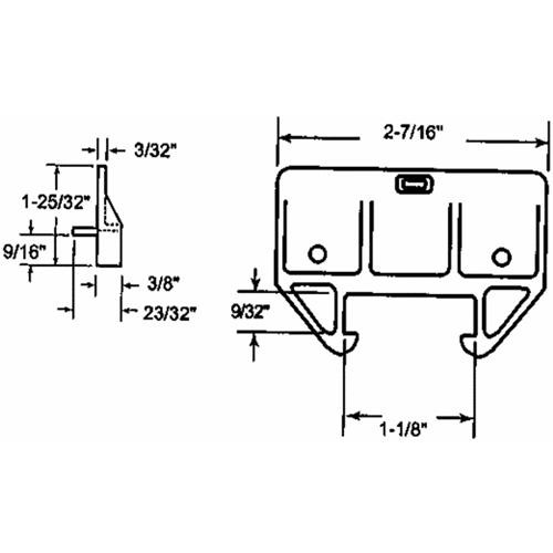 Prime Line Prod. Drawer Track Guide Kit