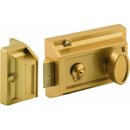 Prime Line Prod. 3-Way Night Latch With Locking Cylinder