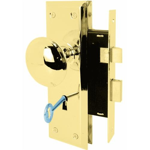 Prime Line Prod. Bit Key Mortise Lockset