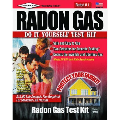 Pro Lab Inc. Radon Gas Test Kit