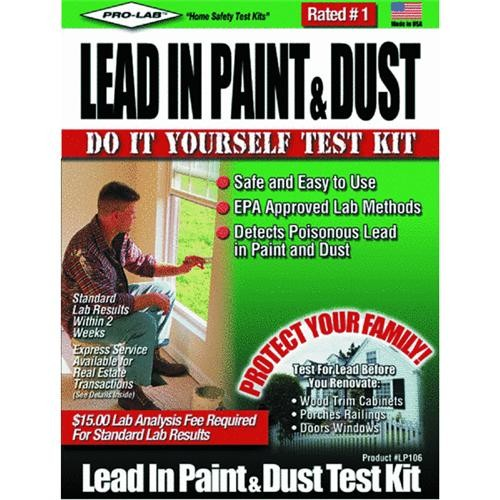 Pro Lab Inc. Lead Test Kit For Paint And Dust