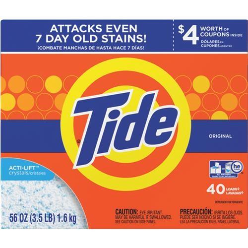 Procter & Gamble Tide Powder Laundry Detergent 56 Oz
