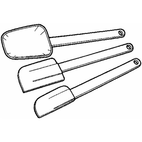 Norpro 3-piece Spatula Set
