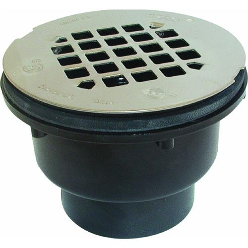 Oatey ABS Shower Drain With Strainer