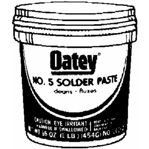 Oatey No. 5 Lead-free Flux Paste