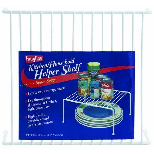 Panacea Products Grayline Kitchen & Household Helper Shelf