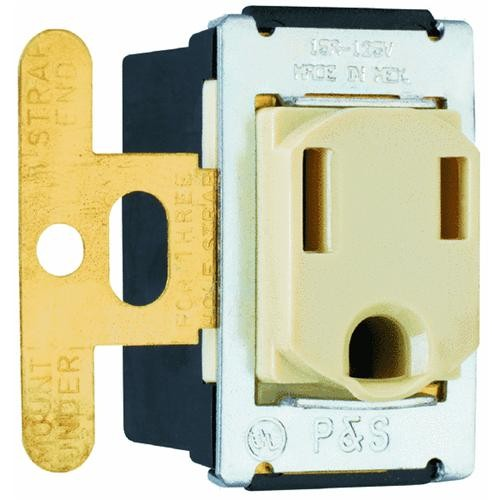 Pass & Seymour Flush Outlet