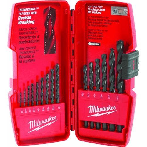 Milwaukee Accessory Milwaukee Thunderbolt 15-Piece Black Oxide Drill Bit Set