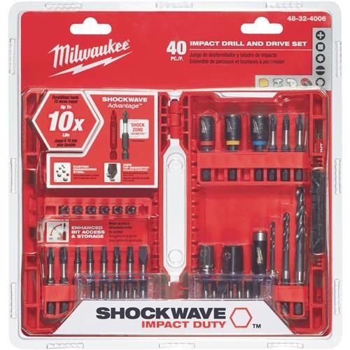 Milwaukee Accessory Milwaukee Shockwave Impact 40-Piece Drill and Drive Set