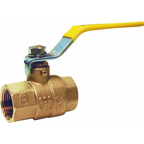 Mueller/B & K Low Lead Brass Full Port Packing Gland Ball Valve FIP