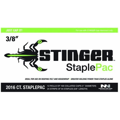 National Nail Stinger Cap And Staple