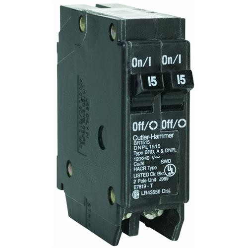Eaton Corporation Cutler-Hammer BR Duplex Circuit Breaker