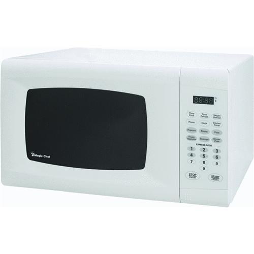 Magic Chef Magic Chef 0.9 Cu Ft White Microwave Oven
