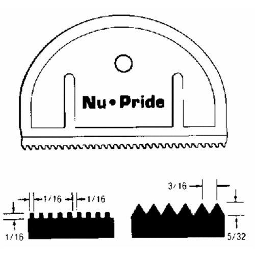 Marshalltown Trowel Nu-Pride Adhesive Spreader
