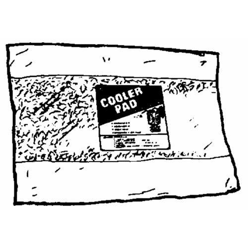 Dial Mfg. Aspen Cooler Pads
