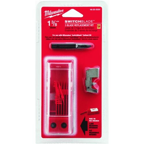 Milwaukee Accessory Milwaukee SwitchBlade 3 Pack Replacement Blade Kit