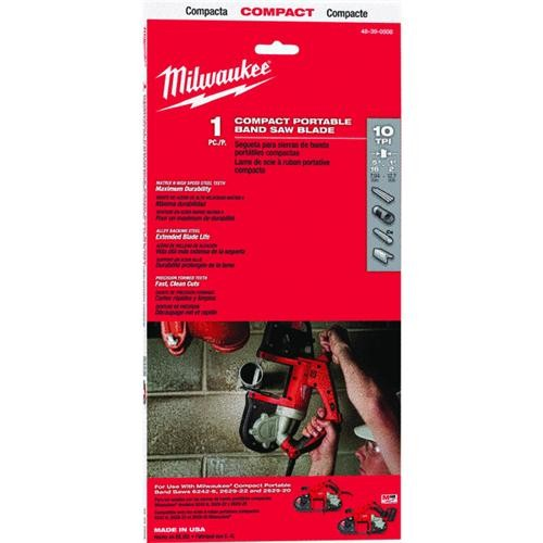 Milwaukee Accessory Milwaukee Bi-Metal Compact Band Saw Blade