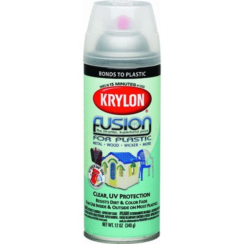 Krylon/Consumer Div Fusion For Plastic Clear Finish