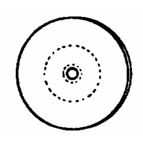Dico Prod. Corp. Canton Flannel Buffing Wheel