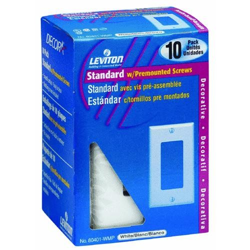 Leviton 10-Pack Decorator Wall Plate