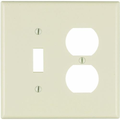 Leviton Mid-Way Combination Wall Plate