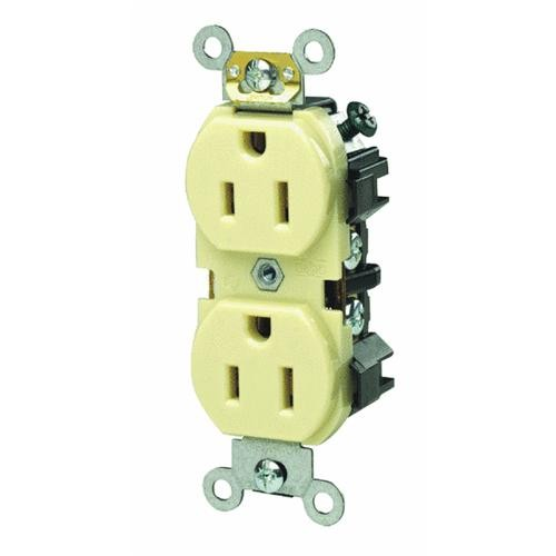 Leviton Industrial Grade Grounded Duplex Outlet