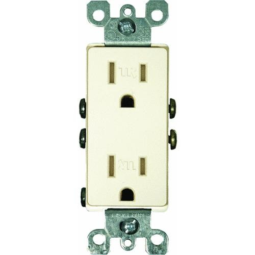 Leviton Decorative Tamper-Resistant Duplex Outlet