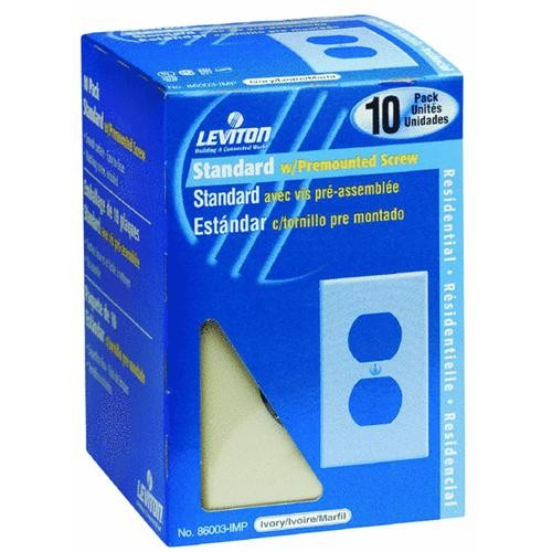 Leviton 10-Pack Outlet Wall Plate