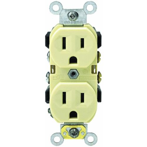 Leviton Grounded Duplex Outlet
