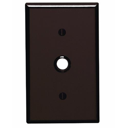 Leviton Plastic Telephone Cable Wall Plate