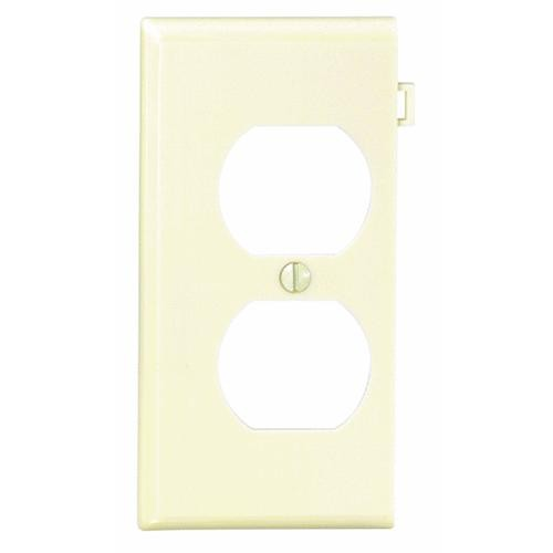 Leviton Duplex Sectional Outlet Wall Plate End Panel