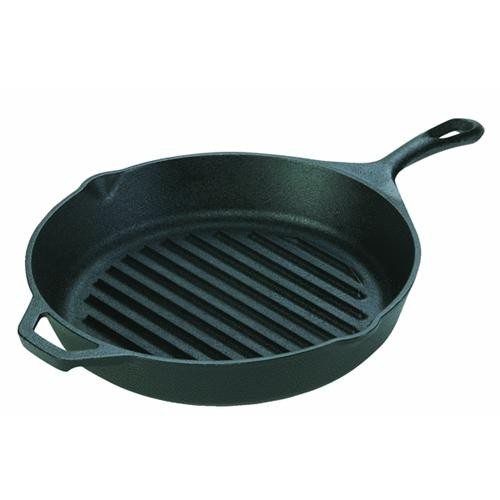 Lodge Mfg Co Lodge Logic Cast-Iron Skillet Grill Pan