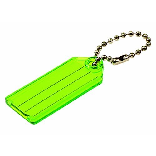 Lucky Line I.D. Key Tag With Chain