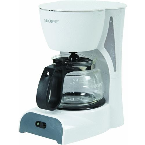 Jarden Consumer Solutions Mr Coffee White 4 Cup Coffeemaker