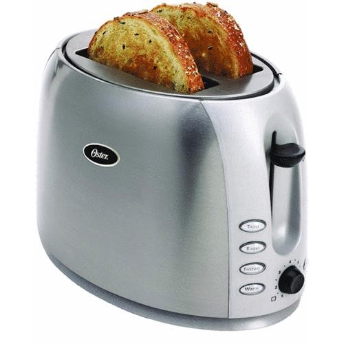 Jarden Consumer Solutions Oster 2-Slice Stainless Steel Toaster