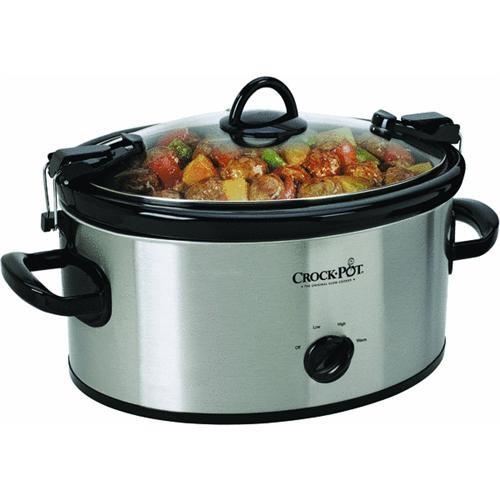 Jarden Consumer Solutions Rival 6 Quart Crock Pot Slow Cooker