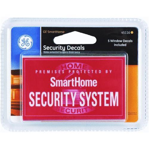 Jasco Products Co. Security Window Sticker
