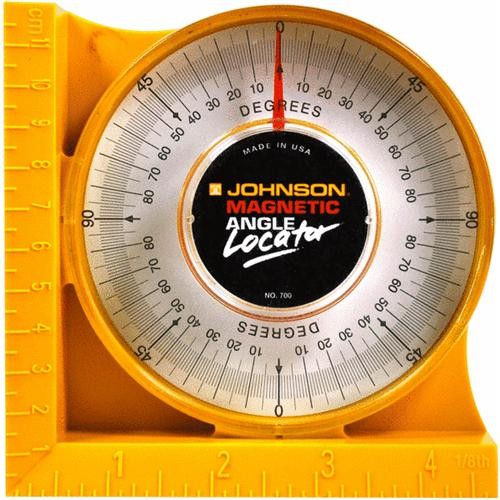 Johnson Level Magnetic Protractor And Angle Locator