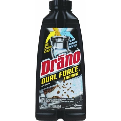 Johnson S C Inc Drano Foaming Liquid Drain Cleaner