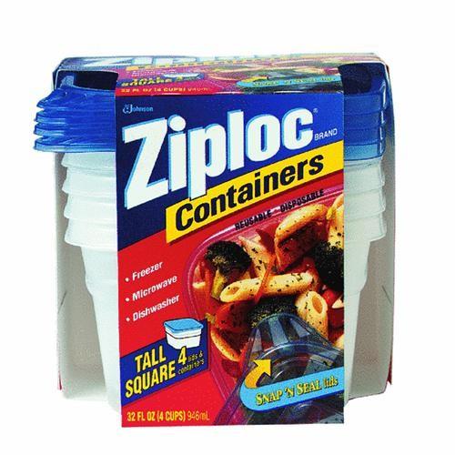 Johnson S C Inc Ziploc Freezer Food Storage Container