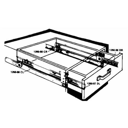 Knape & Vogt Extension Drawer Slides
