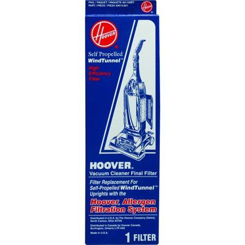 Hoover Final Filter